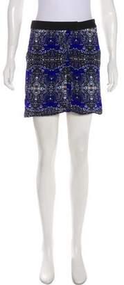 A.L.C. Printed Mini Skirt