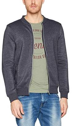 Tom Tailor Men's Nos Bomber Jacket Sweatshirt, (Night Sky Blue 6576), XX-Large