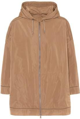 Brunello Cucinelli Silk-blend jacket
