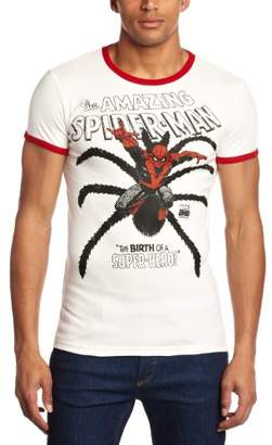 Marvel T-Shirt Slim Fit, The Amazing Spiderman -The Birth, Multicoloured, S