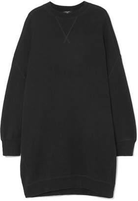 R 13 Cotton-blend Mini Dress - Black