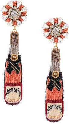 Mignonne Gavigan champagne earrings