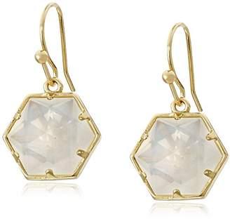 Trina Turk Basics Hexagon Stone Drop Earrings