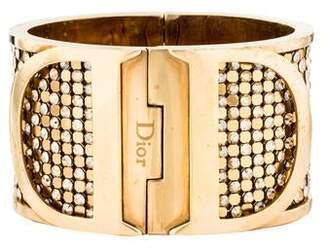 Christian Dior Crystal Hinge Bracelet