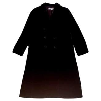 Guy Laroche Black Velvet Coat for Women Vintage