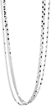 Lana Short Nude Three-Strand Necklace, 16""