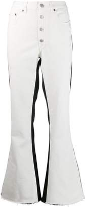 MM6 MAISON MARGIELA monochrome block jeans