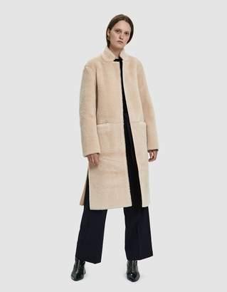 Mijeong Park Faux Shearling Coat
