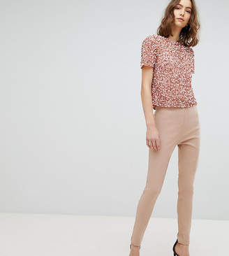 Asos Tall DESIGN Tall high waist pants in skinny fit