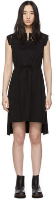 See by Chloe Black Embellished T-Shirt Dress