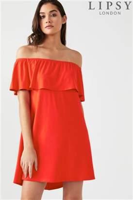 Next Womens Lipsy Bardot Mini Dress