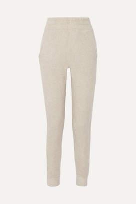 The Elder Statesman Cashmere Track Pants - White