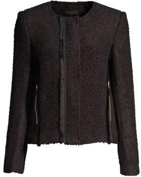 Donna Karan Textured Blazer Jacket
