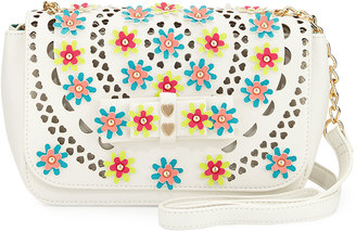 Betsey Johnson Rosie Posie Floral Crossbody Bag, Multi $80 thestylecure.com