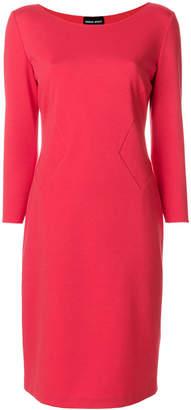 Giorgio Armani classic fitted dress