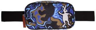 Marni Dance Bunny Blue and Brown Bunny Belt Bag