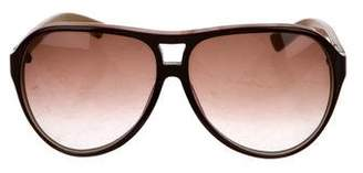 Marc Jacobs Oversize Aviator Sunglasses