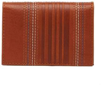 Tommy Bahama Embossed Leather Bi-Fold Card Case
