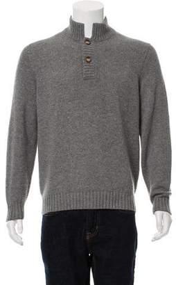 Brunello Cucinelli Cashmere Mock Neck Sweater