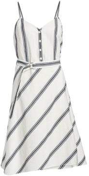 Rag & Bone Doris Sleeveless Belted A-Line Dress