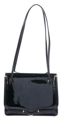 Judith Leiber Embellished Patent Leather Bag
