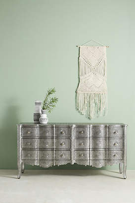 Anthropologie Hand-Embossed Six-Drawer Dresser