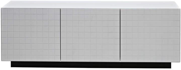 Toshi Cabinet 3 Sideboard mit Sockel, Weiß