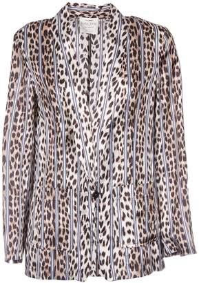 Forte Forte Leopard Print Blazer