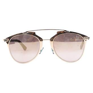 Christian Dior So Real Blue Metal Sunglasses