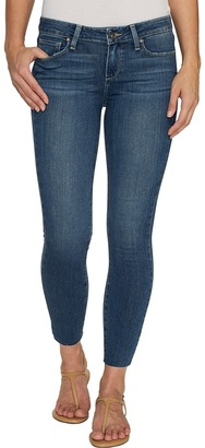 Paige - Verdugo Crop with Raw Hem in Kalina Women's Jeans $199 thestylecure.com