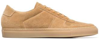 Common Projects Taupe low-top suede sneakers