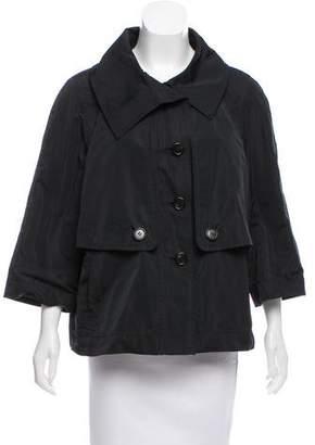 Derek Lam Silk-Blend Casual Jacket
