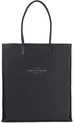 Smythson Kingly North leather tote