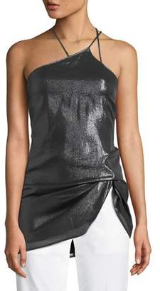 Helmut Lang Strappy Pulled Halter Tank Top