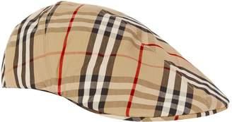 Burberry Nova Check Flat Cap