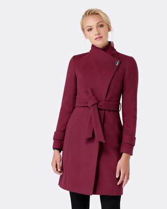Forever New Emma Funnel Collar Coat