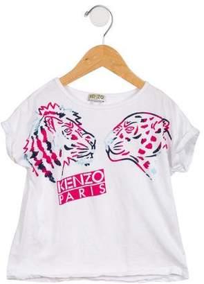 Kenzo Girls' Graphic T-Shirt