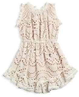 Zimmermann Kids Little Girl's& Girl's Jaya Wave Flip Dress