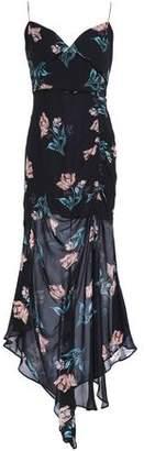 Nicholas Floral-print Silk-georgette Midi Dress
