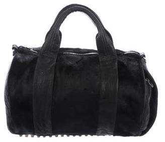 Alexander Wang Ponyhair Rocco Duffel Bag