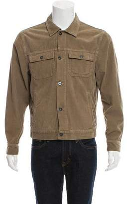 Save Khaki Corduroy Button-Up Jacket