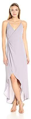 ASTR the Label Women's Penelope Wrap Maxi Dress