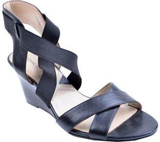 Adrienne Vittadini Footwear Women's Raenie Wedge Sandal $24.45 thestylecure.com