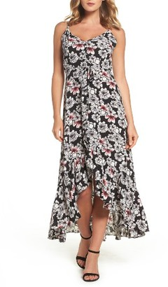 Women's Betsey Johnson Crepe Maxi Dress $148 thestylecure.com