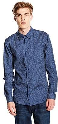 BOSS Orange Men's EnameE Slim Fit Long Sleeve Casual Shirt,(Manufacturer Size: )