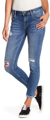 Vigoss Jagger Double Fray Skinny Jeans