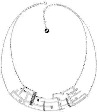 "Karl Lagerfeld Paris Large Boucle Collar Bib Necklace, 16""-18"""