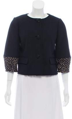 Tory Burch Wool Button-Up Jacket