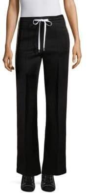 Miu Miu Logo Jersey Tracksuit Pants