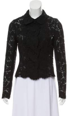 Valentino Scalloped Lace Jacket